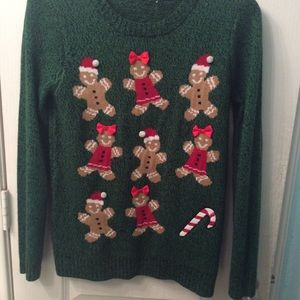 Christmas sweater size small petite